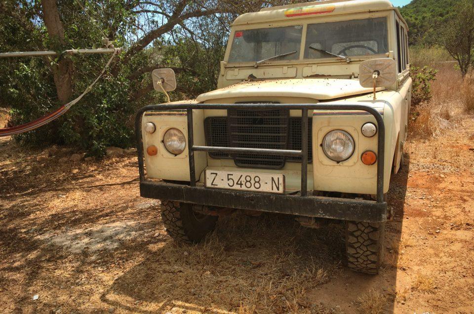 Perfect road trip car, Ibiza